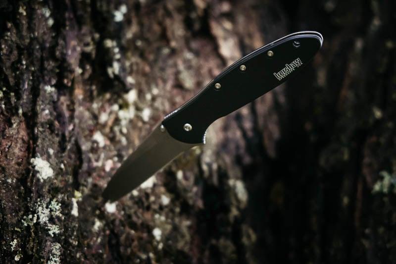 Kershaw Knives leek black 1