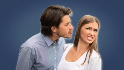 Never Had a Girlfriend Man Trying to Kiss Attractive Woman After Bad Date