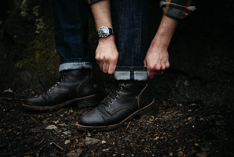 Outerknown sea jeans with selvedge denim