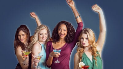 Signs a girl wants you to notice her 4 young attractive women out partying and drinking together