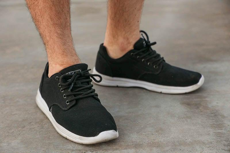 TravisMathew closeup cuater shoes