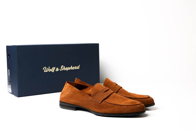 Wolf and Shepherd loafers