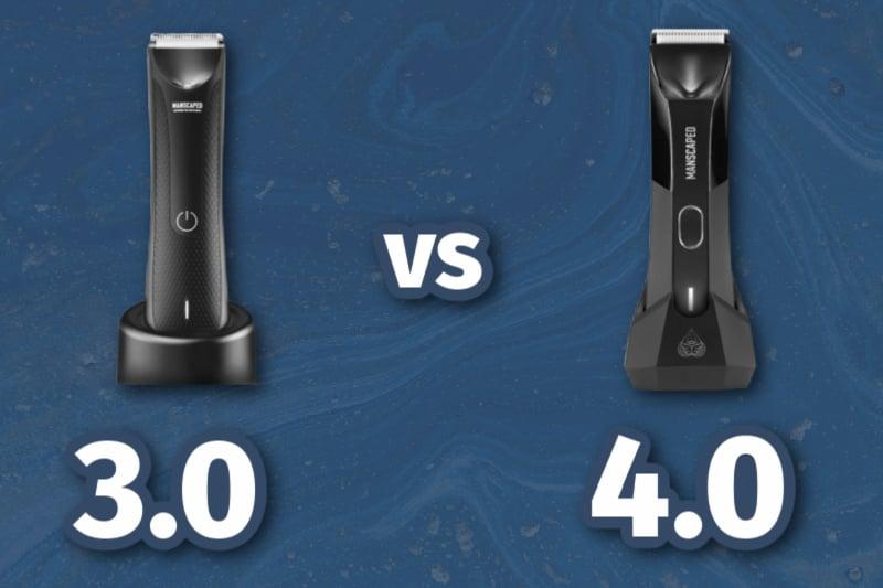 manscaped 3.0 vs 4.0 trimmer