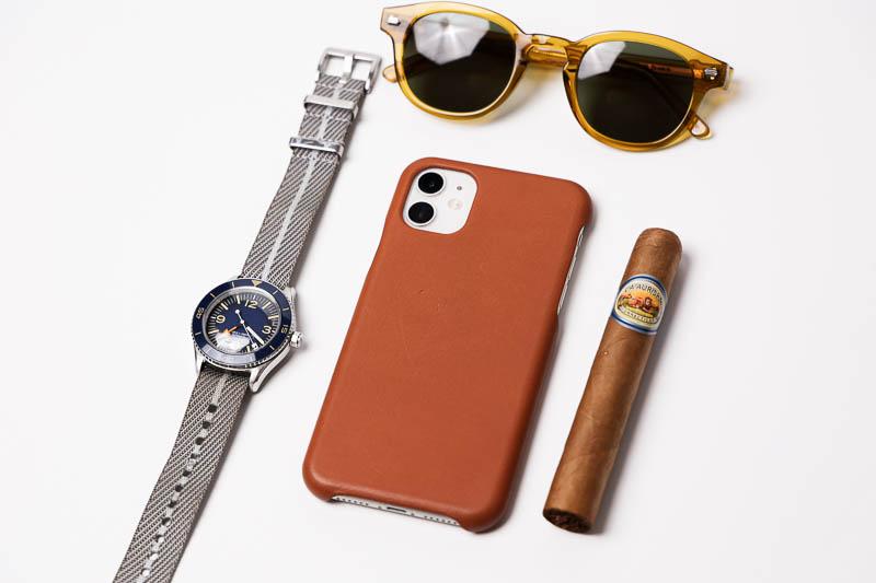 Anson Calder leather iphone case