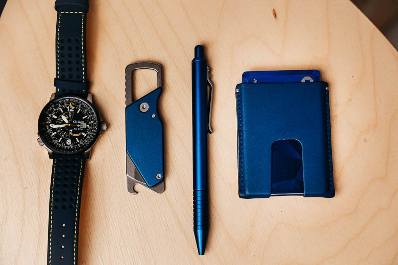 Anson Calder wallet edc set up