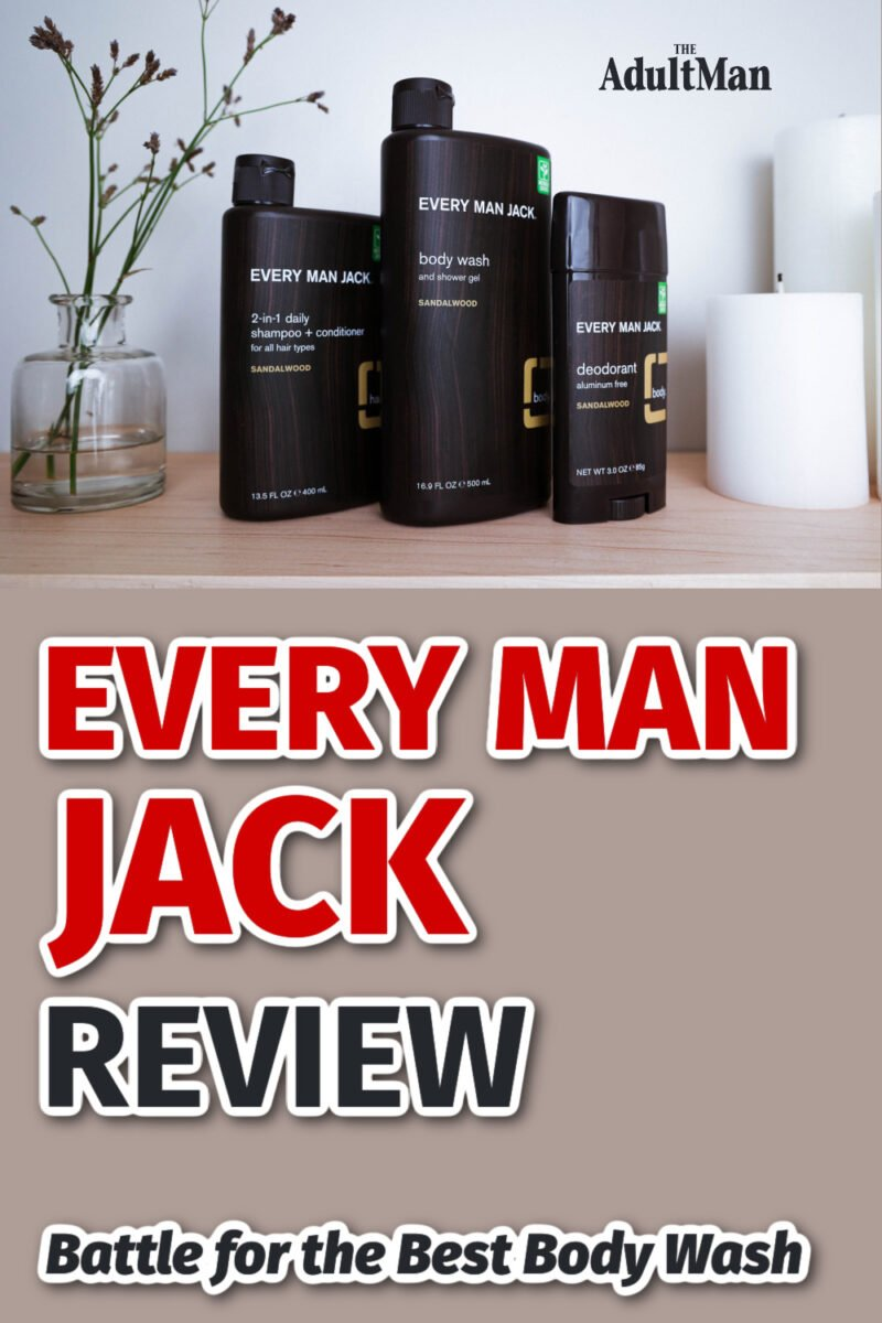 Every Man Jack Review: Battle for the Best Body Wash