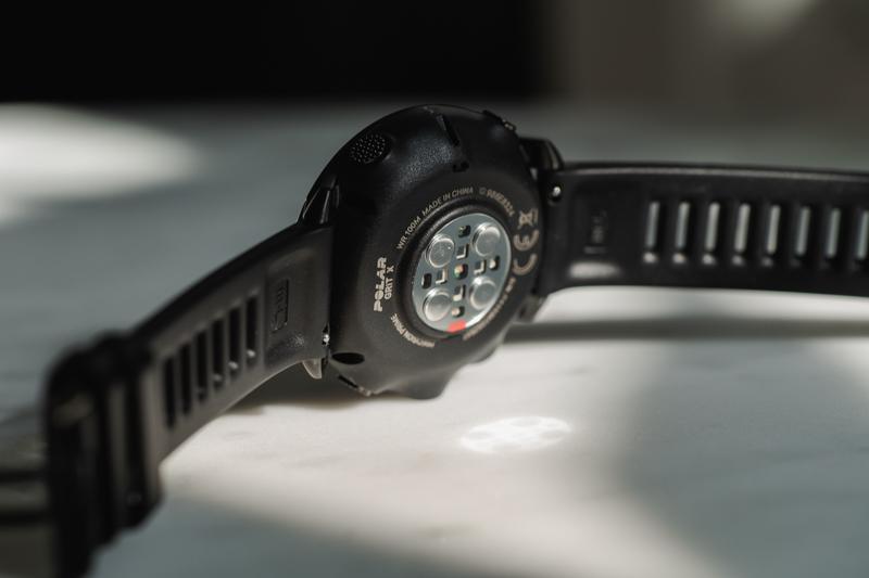 Polar Vantage Grit X optical heart rate monitor