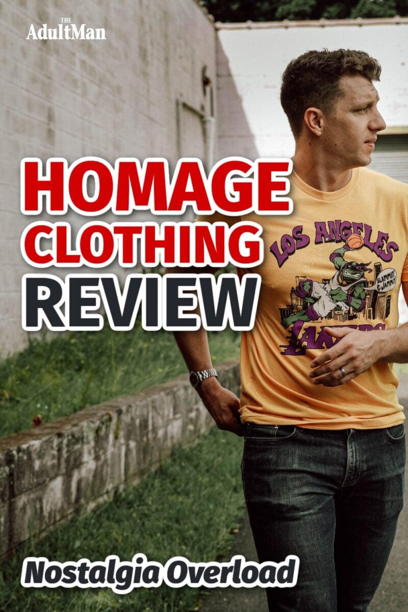Homage Clothing Review: Nostalgia Overload