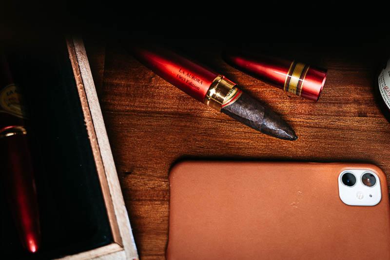 la aurora cigars ruby tubo 1903