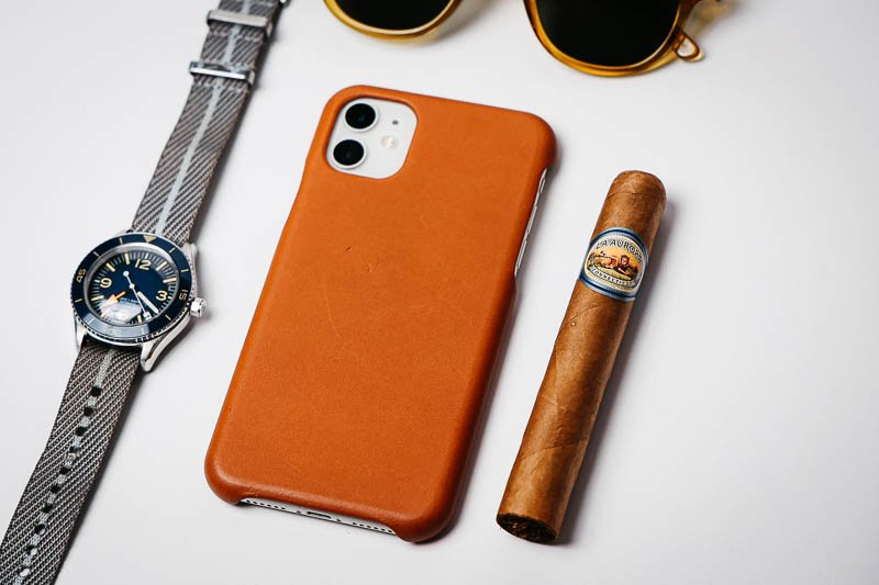 la aurora cigars sapphire 1903 collection with phone and watch