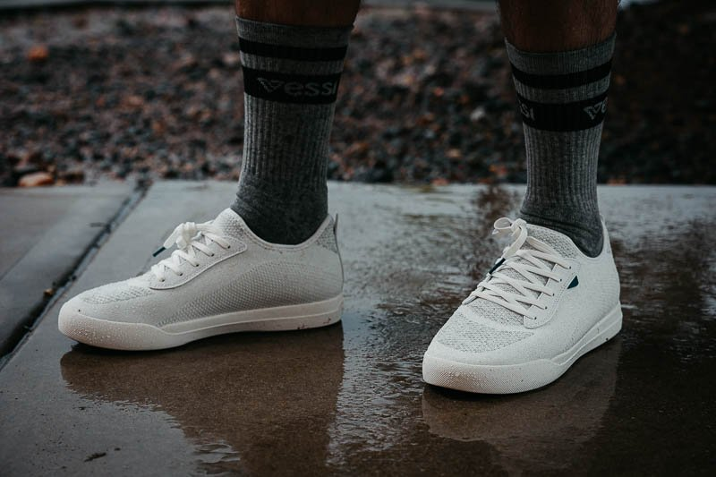 vessi sneakers with socks