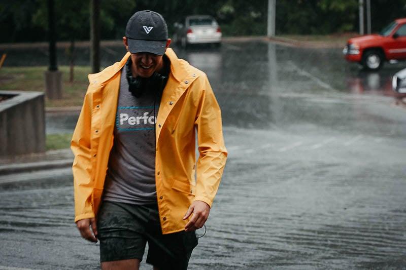 vessi waterproof grey cap