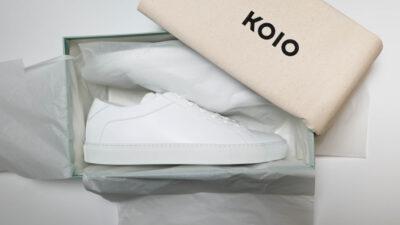 KOIO review minimalist sneakers