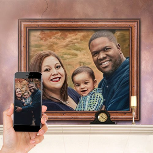PaintYourLife Personalized Portrait
