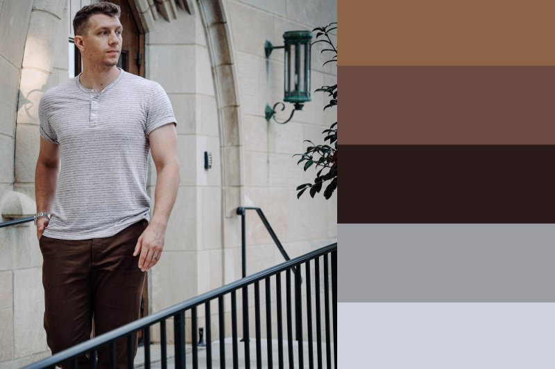 linen shirt fall colors